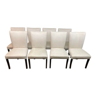 Sunrise Home Parsons Style Dining Chairs, Set of Eight For Sale