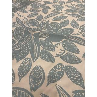 Marimekko Viikuna Tropical Leaves Fabric Remnant For Sale