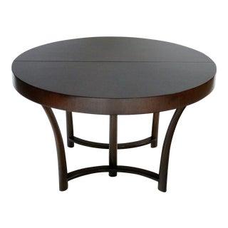 t.h. Robsjohn Gibbings Expandable Dining Table For Sale