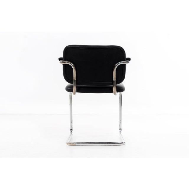 1970s Set of 12 Marcel Breuer Dining Chairs For Sale - Image 5 of 11