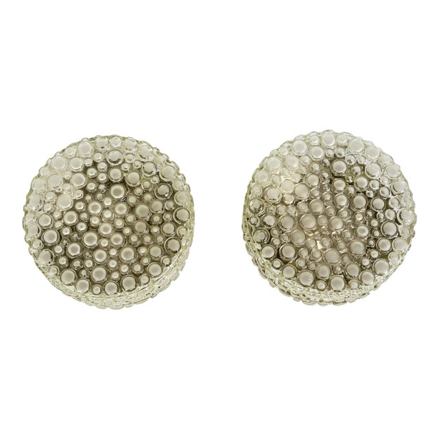 Helena Tynell Design Buffed Revisited Flush Mounts - a Pair For Sale