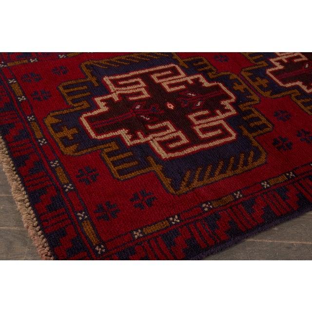 "Apadana - Vintage Persian Balouch Rug - 2'9"" x 4'7"" - Image 3 of 4"