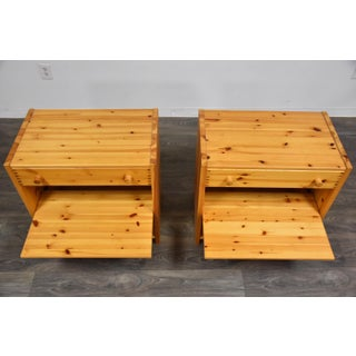Idé Møbler Solid Pine Nightstands- a Pair Preview