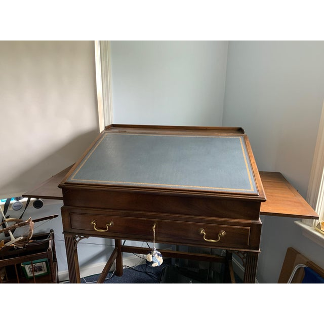 This desk was used by a famous lobbies in Washington DC in 1980's. Great desk for professionals and executives. Made by...