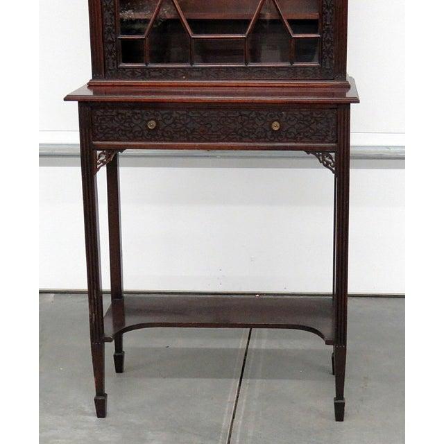Georgian 19thC Georgian Collectors Cabinet For Sale - Image 3 of 12