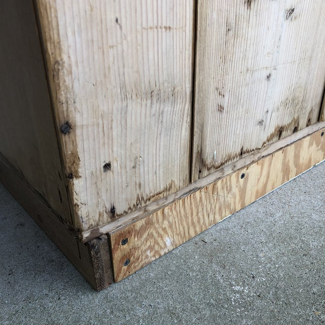 19th Century English Pine Cabinet For Sale - Image 10 of 12