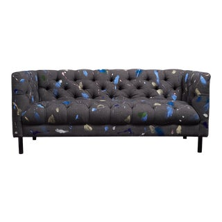 Colorful Louis Style Couch Customized Tufted Sofa For Sale