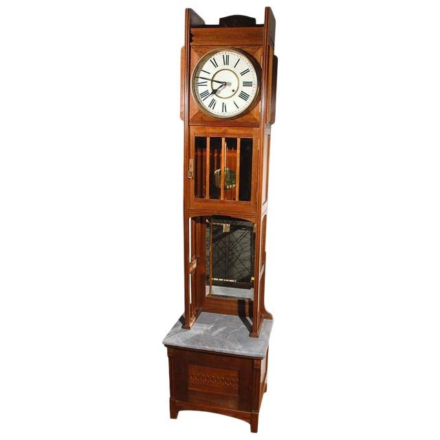 Ansonia Tall Case Clock For Sale
