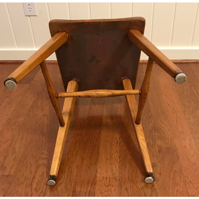 Mid Century Cushman Birch Solid Wood Chair For Sale - Image 9 of 10