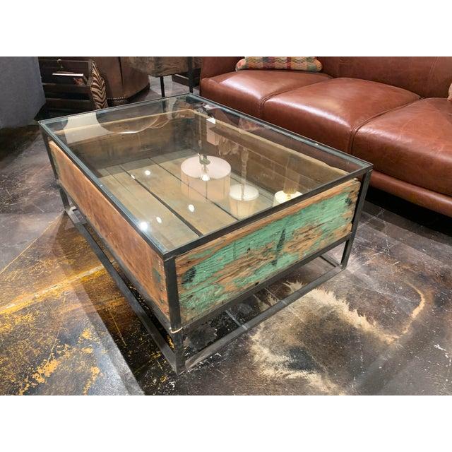 Rustic Cisco Brothers Farm Wood Box Coffee Table Chairish