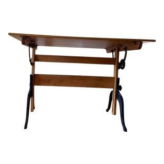 Folk Art A.Lietz Drafting Table For Sale