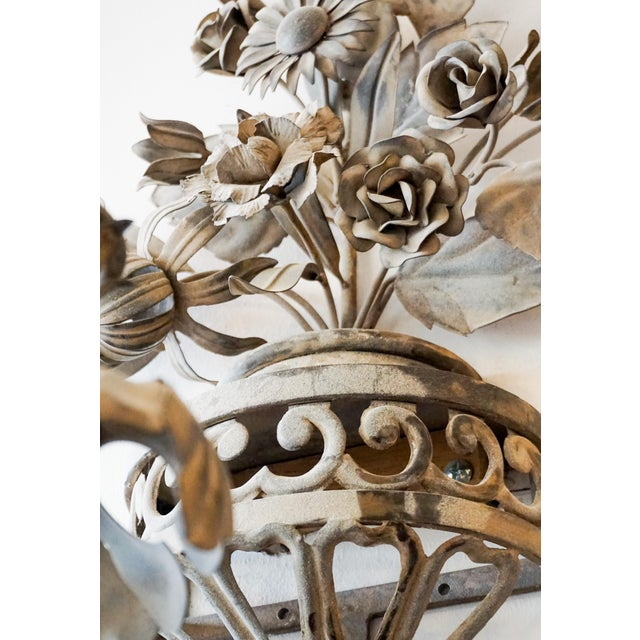 Late 19th Century Pair of 19th Century French Sconces - A Pair For Sale - Image 5 of 8