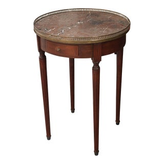 French 19th Century Louis XVI-Style Mahogany Gueridon Table For Sale