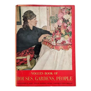 1960s Vogue's Book of Houses, Gardens, People For Sale