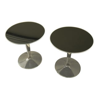 """Kartell """"Ghost Tip Top"""" Side Tables - a Pair For Sale"""
