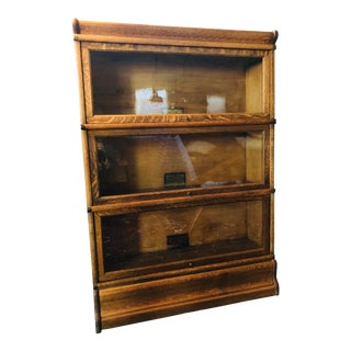 1930s Arts and Crafts Globe Wernicke Bookcase For Sale