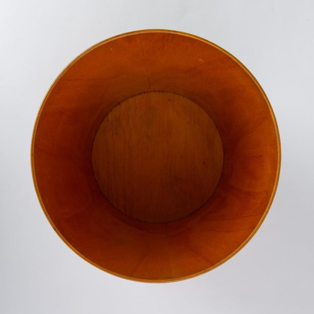 Rainbow Wood Products Teak Wastebasket by Martin Åberg For Sale In Los Angeles - Image 6 of 10