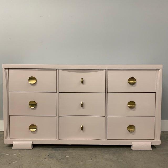 Vintage Mid Century Painted Dresser For Sale - Image 13 of 13
