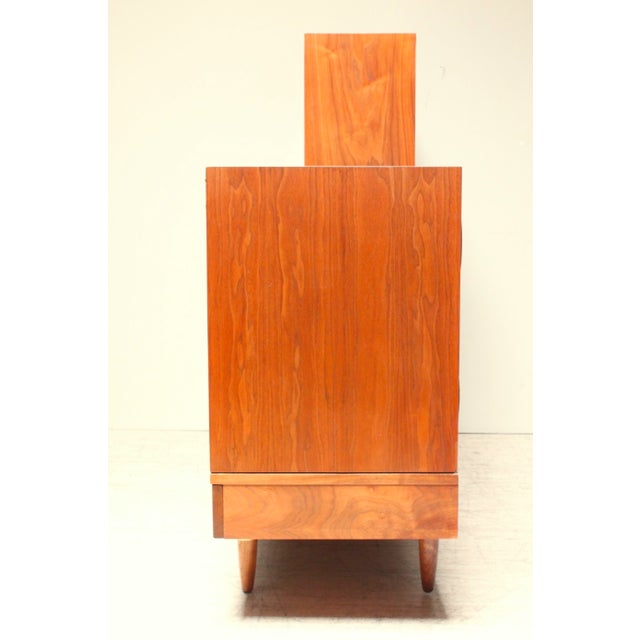 American of Martinsville Mid-Century Wall Unit - Image 3 of 6