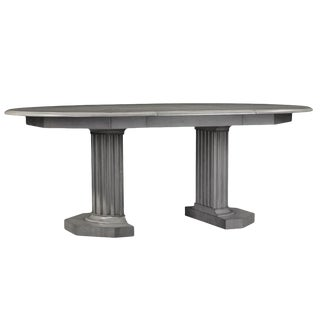 Transitional Eden Roc Dining Table For Sale