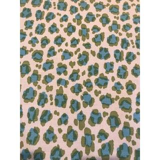 "China Seas ""Conga Line"" Linen Fabric For Sale"