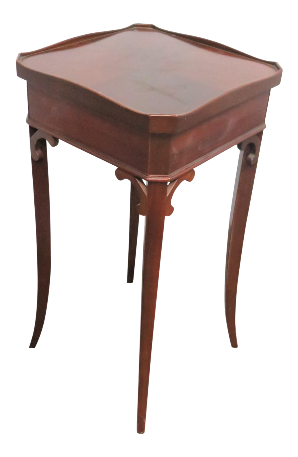 Hepplewhite Mahogany Side Table