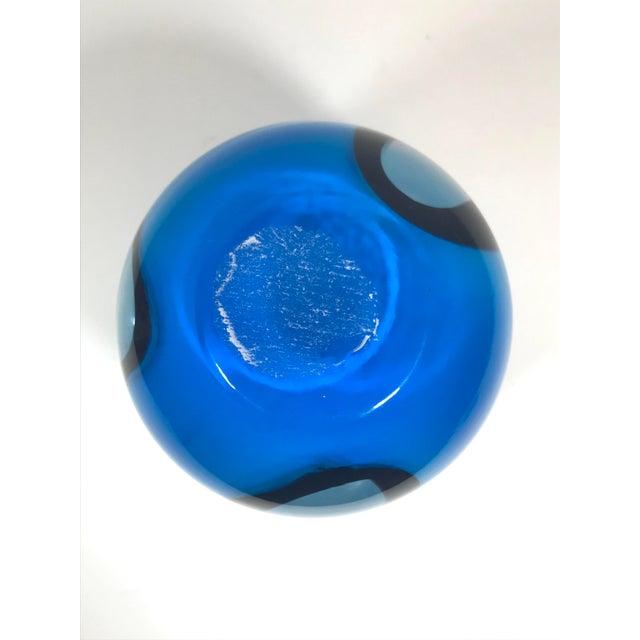 Murano Art Glass Vase For Sale - Image 6 of 8