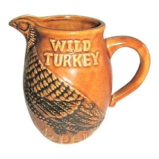 Collectible Wild Turkey Pitcher For Sale
