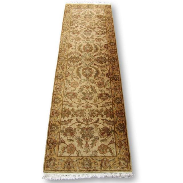 "Oriental Hand Woven Wool Runner - 2'6"" x 7'11"" - Image 2 of 11"