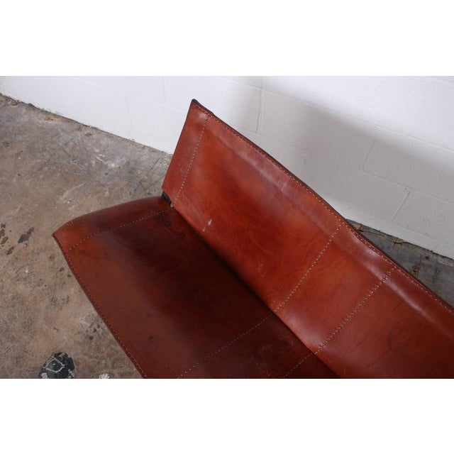 Leather Bench by Max Gottschalk For Sale - Image 9 of 10