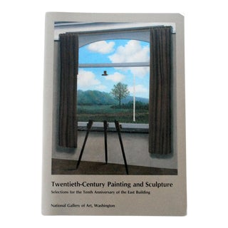 20th Century Modern Painting and Sculpture Art Book