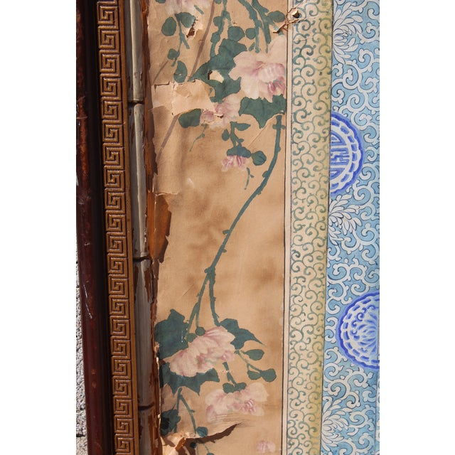 Late 19th Century Late Ching Chinese Court Lady Painting For Sale - Image 5 of 8