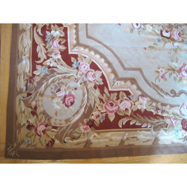 "French Aubusson Rug - 8' x 10"" - Image 6 of 9"