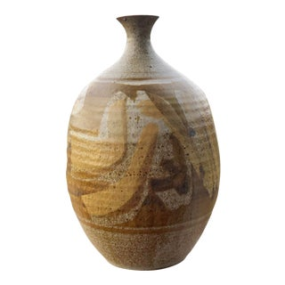 Don Jennings Mid Century Studio Pottery Vase For Sale