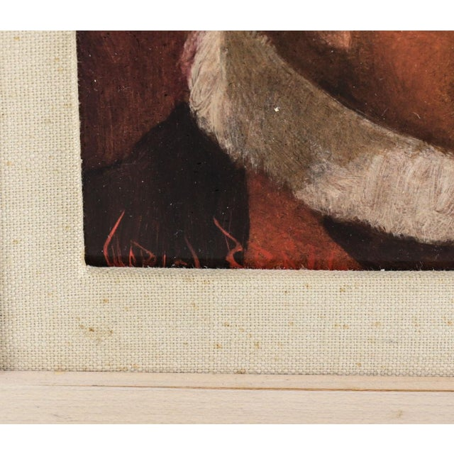 """Charles Bragg """"Holy Motion"""" Oil on Masonite Painting For Sale - Image 5 of 6"""