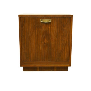 Lane Furniture Alta Vista, Va Mid-Century Modern Accent Magazine Cabinet End Table For Sale