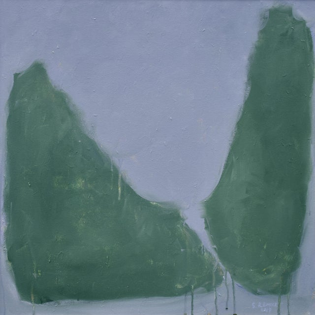 "Stephen Remick ""Evening Descending"" Contemporary Abstract Painting For Sale - Image 10 of 12"