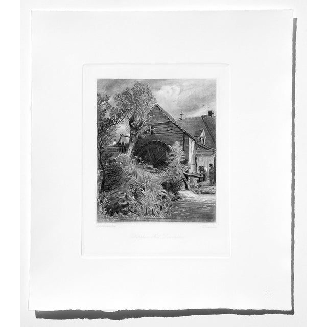 John Constable & David Lucas Mezzotint Collection From the Tate Gallery in London 1990's - Set of 16 For Sale - Image 9 of 14