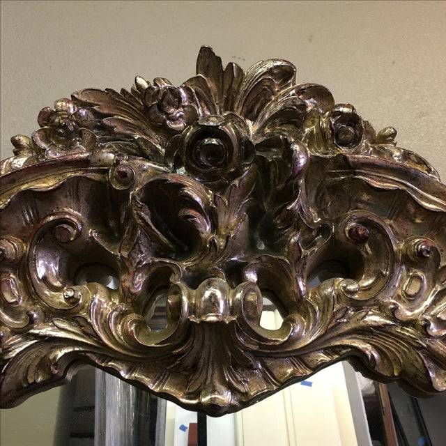 Well-known Vintage Turner MFG Company Carved Gilt Mirror | Chairish BT29