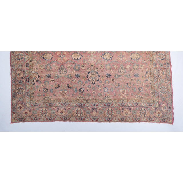 Oversized Magenta Ground Khorasan Carpet For Sale - Image 4 of 6