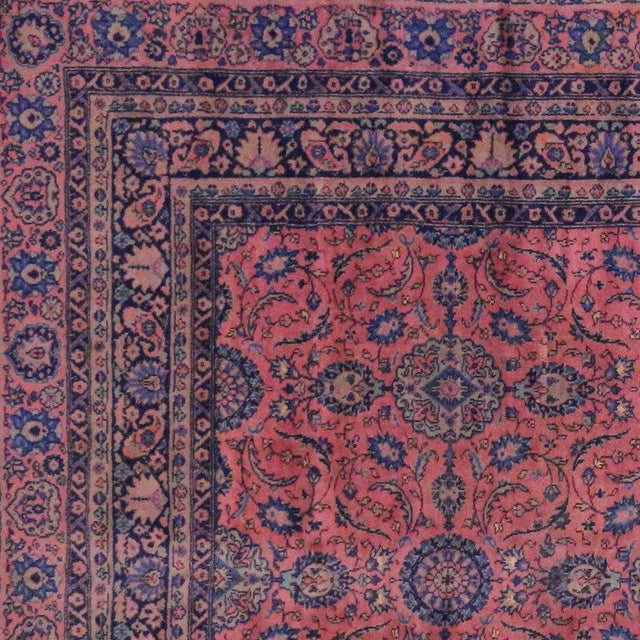 Jewel-Tone Antique Turkish Sparta Gallery Rug For Sale In Dallas - Image 6 of 8