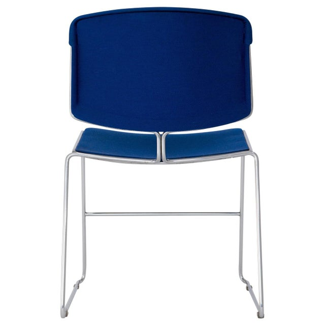 Fabric Steelcase Max Stacker Chairs - Set of 8 For Sale - Image 7 of 10