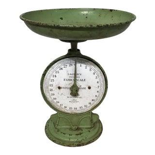 Antique English Pistachio Scales For Sale
