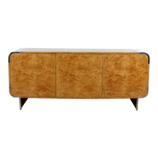 Pace Burlwood Large Credenza For Sale