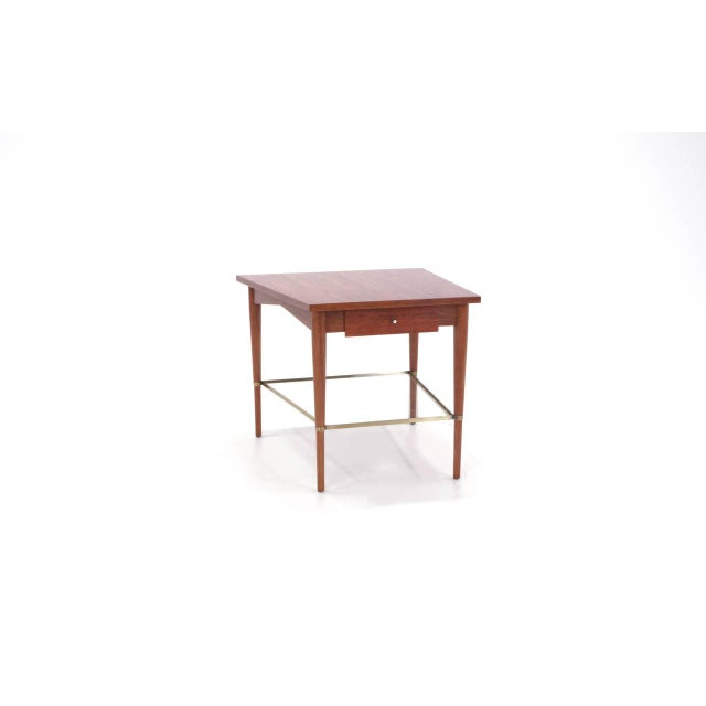 Mid-Century Modern Rare Paul McCobb Trapezoidal Side or End Table For Sale - Image 3 of 10