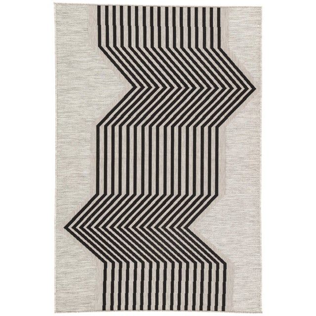 Nikki Chu by Jaipur Living Minya Indoor/ Outdoor Geometric Area Rug - 2′ × 3′7″ For Sale In Atlanta - Image 6 of 6