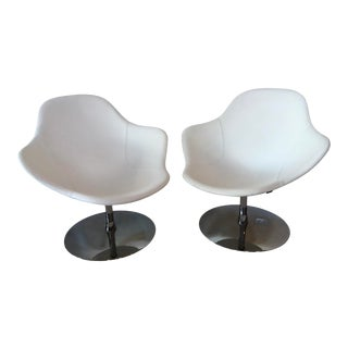 Palma Easy Chairs by Khodi Feiz for Offecet Furniture - a Pair For Sale