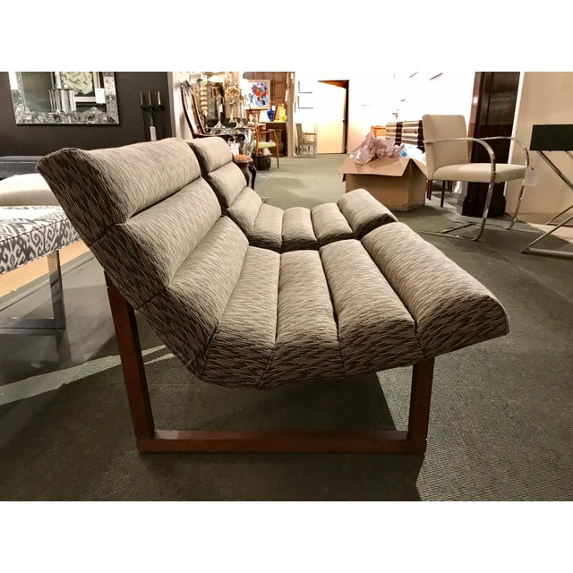 Pair of Mid Century Modern Scoop Lounge Chairs by Milo Baughman For Sale - Image 11 of 12