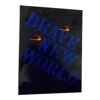 1974 Vintage Brave New World Limited Edition Book For Sale