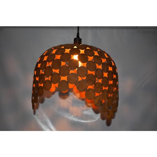 Art Deco Doug Werner Oblik Studio Fishcale Pendant Light - 02 For Sale - Image 3 of 6